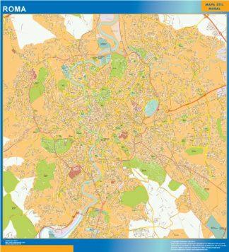 Mappa Magnetica Roma