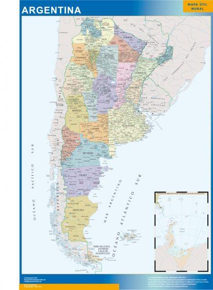 argentina vinyl sticker maps
