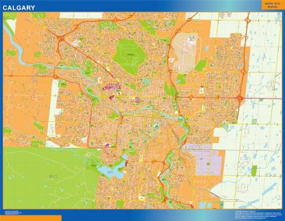 calgary magnetic map