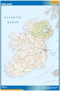 ireland vinyl sticker maps