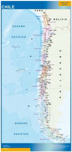 magnetic map chile