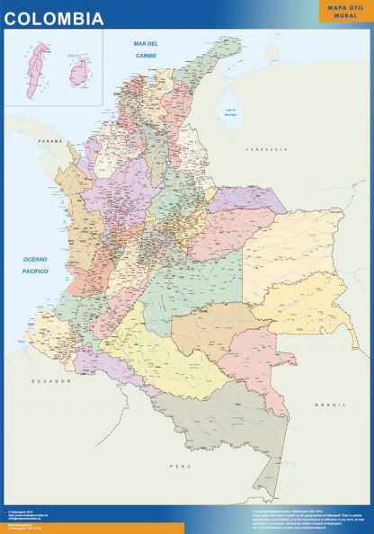 magnetic map colombia