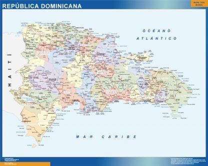 magnetic map dominican republic