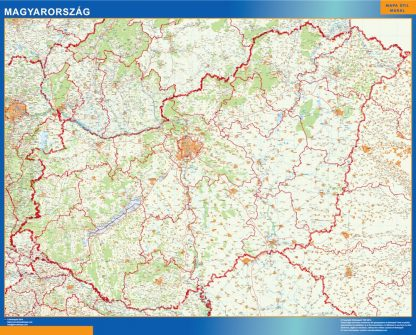 magnetic map hungary