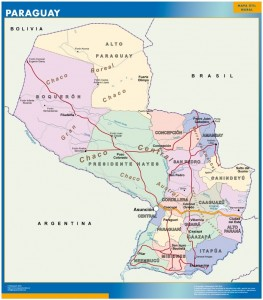 magnetic map paraguay
