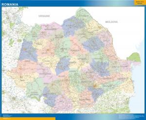 magnetic map romania