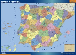 magnetic map spain