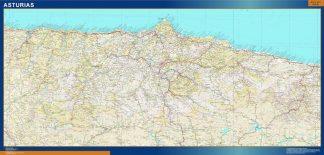 mapa provincia asturias magnetico