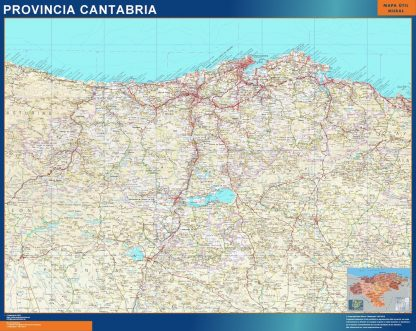 mapa provincia cantabria magnetico