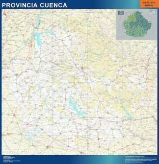 mapa provincia cuenca magnetico