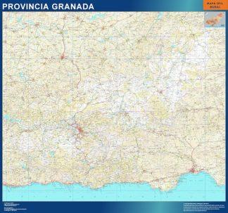 mapa provincia granada magnetico