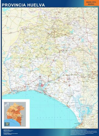 mapa provincia huelva magnetico