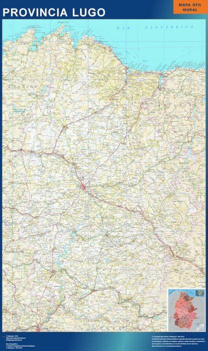 mapa provincia lugo magnetico