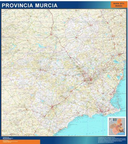 mapa provincia murcia magnetico