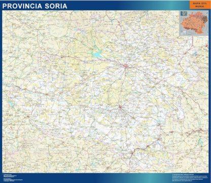 mapa provincia soria magnetico