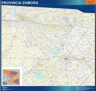 mapa provincia zamora magnetico