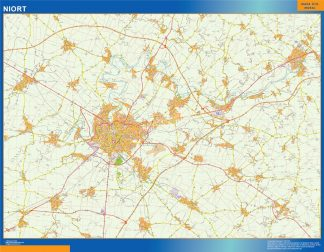 niort carte magnetique