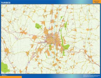 tarbes carte magnetique