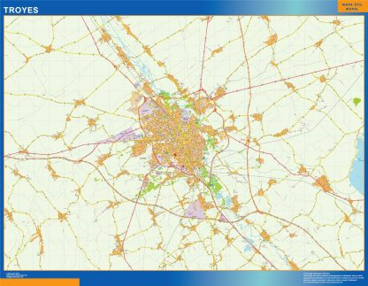 troyes carte magnetique
