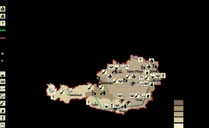 Austria Economic map