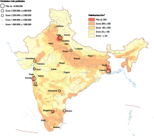 India Population map