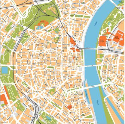 Koln Vector Map