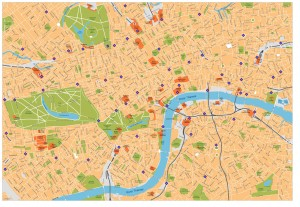 London Vector Map