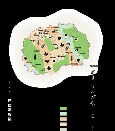 Macedonia Economic map