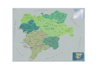 Mapa Municipios Albacete