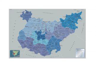 Mapa Municipios Badajoz