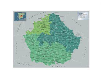 Mapa Municipios Cuenca