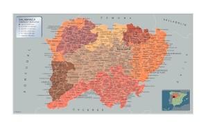 Mapa Municipios Salamanca