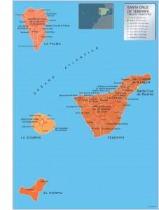 Mapa Municipios Tenerife