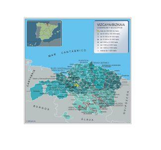 Mapa Municipios Vizcaya