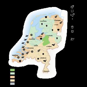 Netherlands Agricultural map