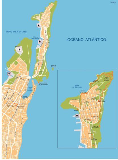 San Juan Vector Map