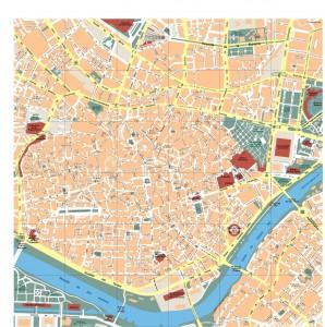 Sevilla Vector Map