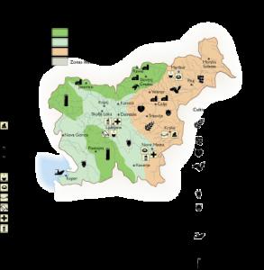 Slovenia Economic map