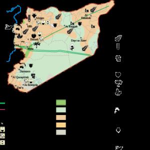 Syria Economic map