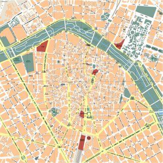 Valencia Vector Map