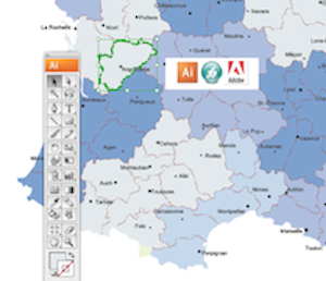 Vector eps maps