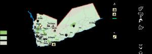 Yemen Economic map