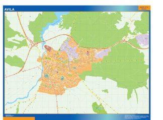 Avila Mapa Vinilo