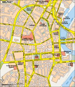 Belfast EPS map