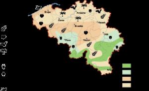 Belgium Land Use map
