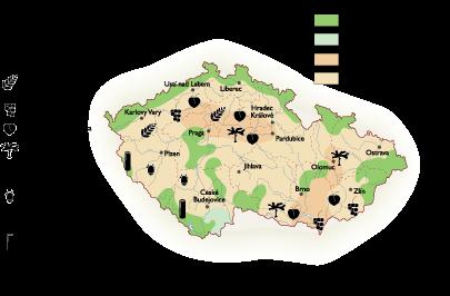 Czech Republic Land Use map