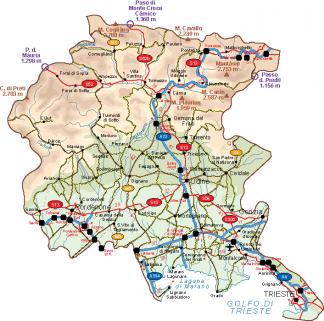 Friuli Vector Map