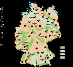 Germany Land Use map