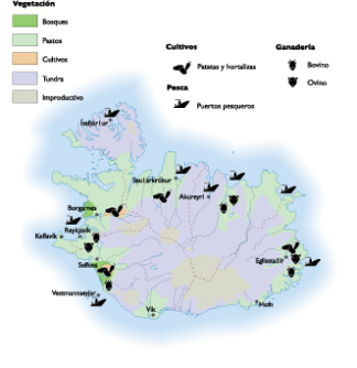 Iceland Land Use map