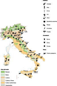 Italy Land Use map